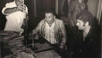 Директор и специалисты винзавода (архив)